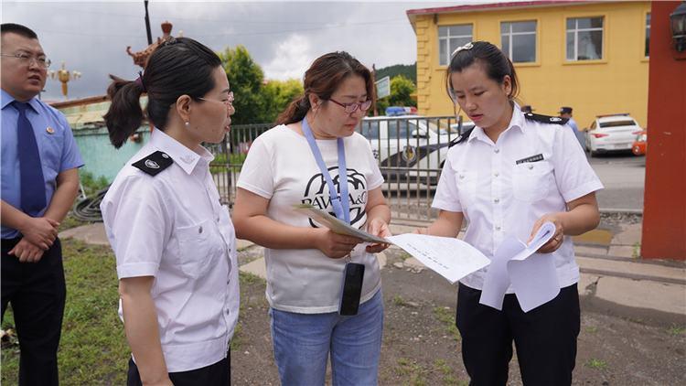 临江雷竞技newbee赞助商联防联检 阻断松材线虫病人为传播途径